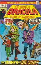 The Tomb of Dracula (Volume 1) Issue 40