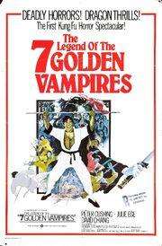 Legend of 7 golden vampires poster 04