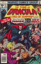 The Tomb of Dracula (Volume 1) Issue 54