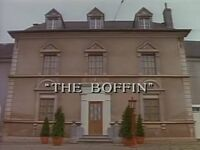 The Boffin title card