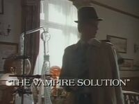 The Vampire Solution title card