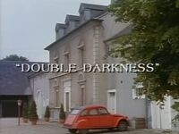 Double Darkness title card