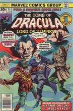 The Tomb of Dracula (Volume 1) Issue 53