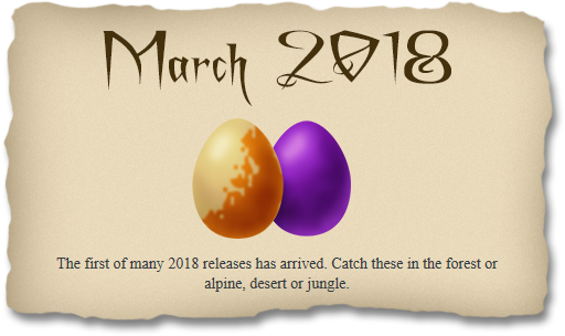 2018-03-25 March 2018 release