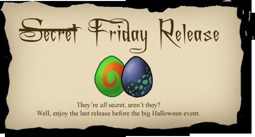 2011-09-17 Secret Friday release