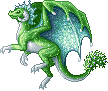 Mistletoe Dragon