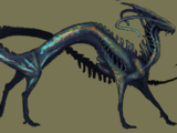 Labradorite Dragon