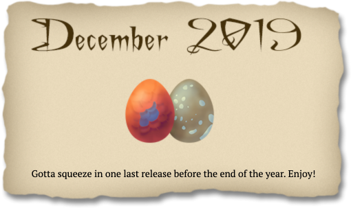 2019-12-01 December release banner