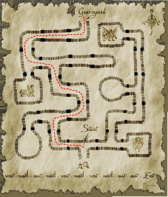 Corn-Maze route