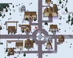 Festive Exp town map