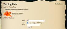 Trading Hub Landing Page