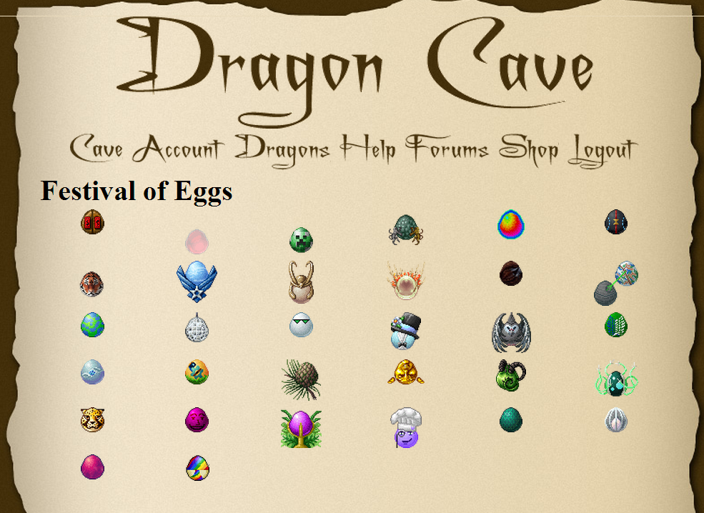 Festival of Eggs - 2014 | Dragon Cave Wiki | FANDOM powered