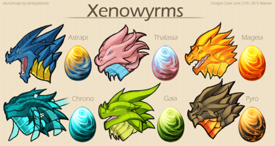 Xenowyrms concept art