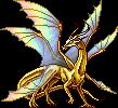 Lunar Herald gold adult