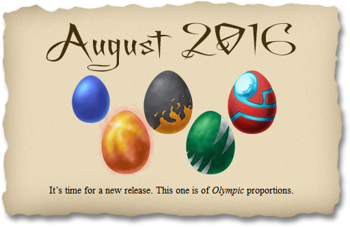 2016-08-21 August 2016 release