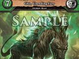 Ghis, Unending Fury