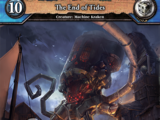 The End of Tides
