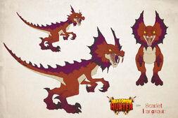 Scarlet-fangsaur-en