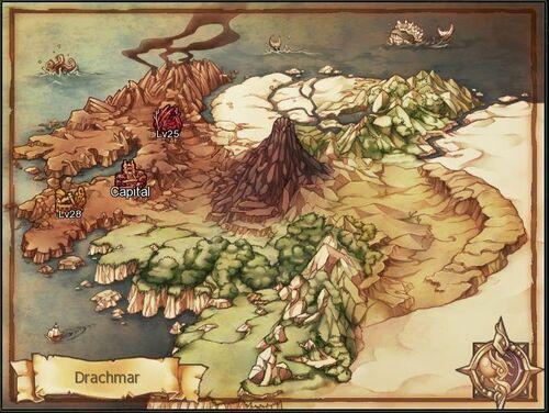 Map Drachmar
