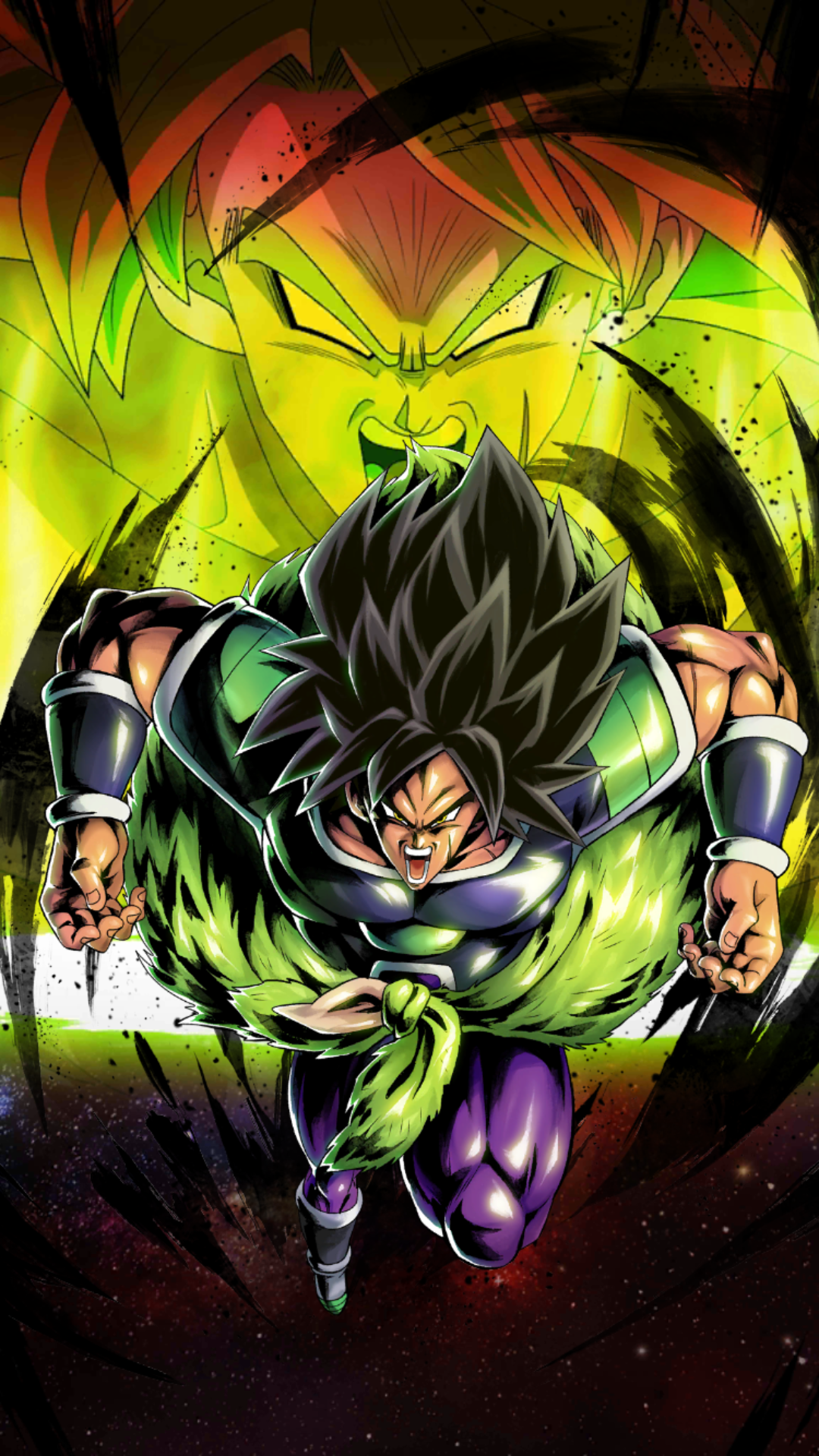 Broly: Fury (SP) (RED) | Dragon Ball Legends Wiki | Fandom