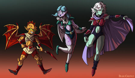 Spice sisters trio by warriorking4ever-d5bdul6