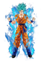Goku super saiyan blue by bardocksonic-d9dfaqg