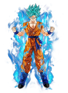 Goku super saiyan blue by bardocksonic-d9dfaqg