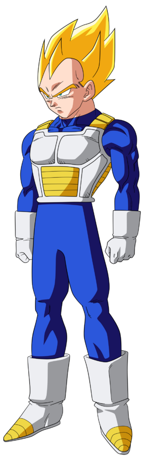 Vegeta Super Saiyan form