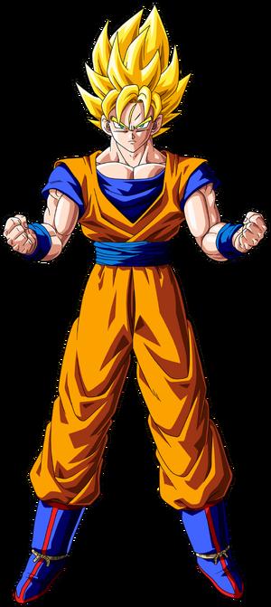 Goku Super Saiyan form