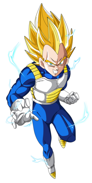 Vegeta Super Saiyan 2