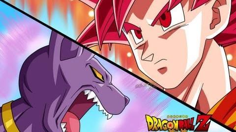 SSJ God Goku vs Bills ENG-DUB