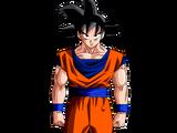 Goku Base vs Bardock Super Saiyajin