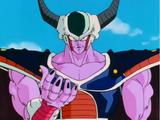 Goku SSJ (principio saga de los androides) vs King Cold 2o Forma (poder completo)