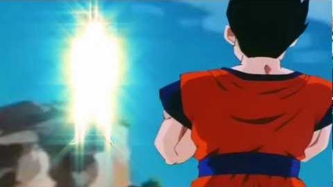 SSJ3 Goku vs Ultimate Gohan (Sub English)