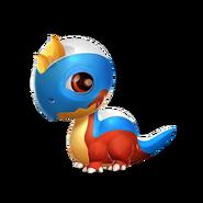 Tricolor Dragon Baby