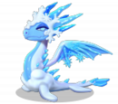 Dragon REINE DES NEIGES