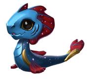Bébé dragon POISSONS