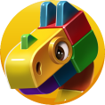 Block Dragon Icon