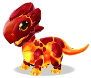 Lava Dragon Baby