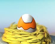 Clownfish Dragon Nested Egg