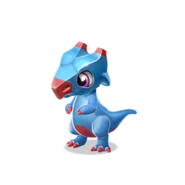 Magnet Dragon Baby