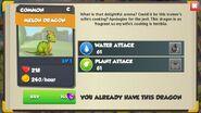 Melon Dragon Base Stats - Codex Entry