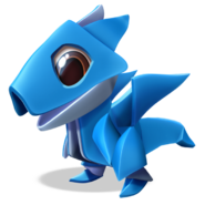 Origami Dragon Baby
