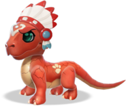 Tribal Dragon Baby