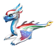 Snow Sport Dragon