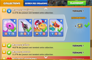 Collection du Codex des Dragons