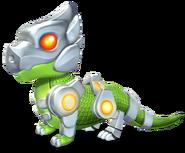 Cyborg Dragon Baby