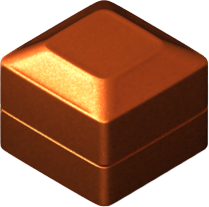 Decoration - Copper Cube