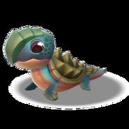 Sea Turtle Dragon Baby