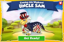 Uncle Sam Dragon Advertisement (Upcoming Event)